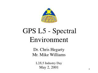 GPS L5 - Spectral Environment