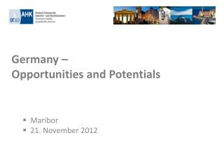 Germany    Opportunities and Potentials