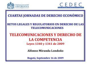 CUARTAS JORNADAS DE DERECHO ECON MICO