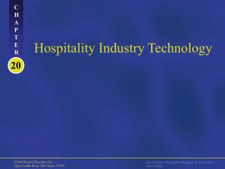 Hospitality Industry Technology