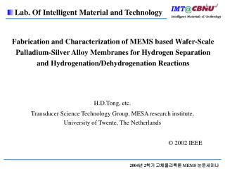 Fabrication and Characterization of MEMS based Wafer-Scale Palladium-Silver Alloy Membranes for Hydrogen Separation and