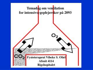temadag om ventilation for intensivsygeplejersker p  2093