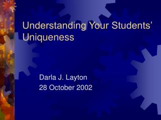 understanding your students  uniqueness