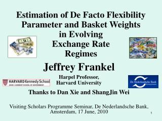 Jeffrey Frankel Harpel Professor,  Harvard University Thanks to Dan Xie and ShangJin Wei