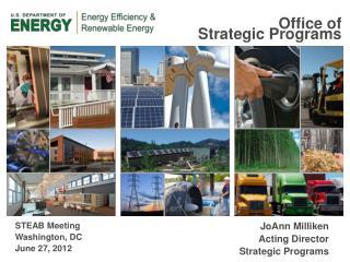 Office of  Strategic Programs