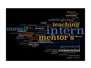 21st Century Collaboration:     Generation X Mentors, Millenials Interns  Technology