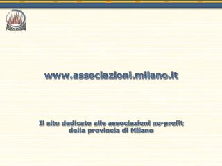Associazioni.milano.it