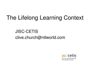 The Lifelong Learning Context