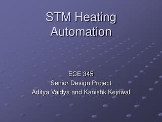 STM Heating Automation