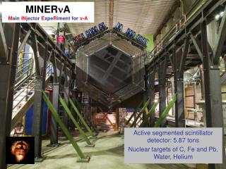 MINERnA Main INjector ExpeRiment for v-A