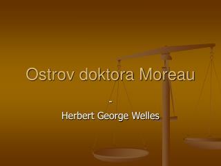 Ostrov doktora Moreau