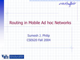 routing in mobile ad hoc networks