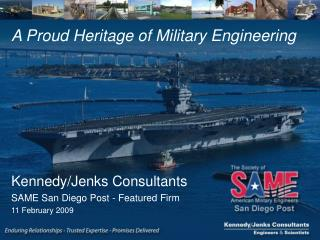 A Proud Heritage of Military Engineering
