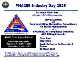 Naval Aviation  and Communication, Navigation, Surveillance Air Traffic Management  FAA NextGen Compliance including ADS