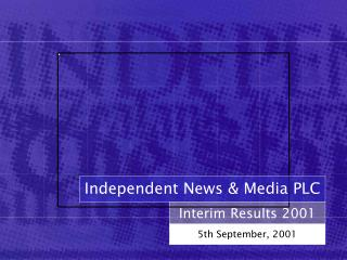 Interim Results 2001