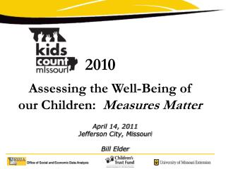 Assessing the Well-Being of our Children:  Measures Matter