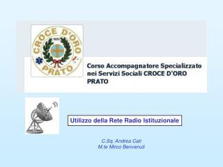 Utilizzo della Rete Radio Istituzionale