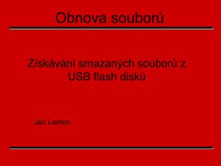 Jan Lemon