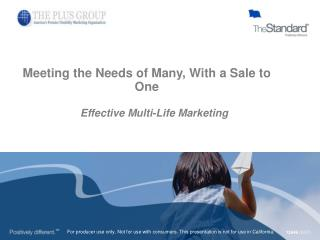 Meeting the Needs of Many, With a Sale to One