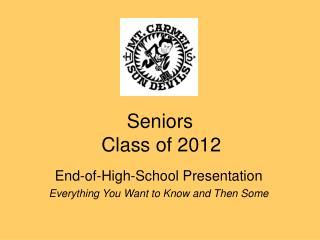 Seniors   Class of 2012