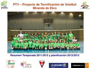 PTV   Proyecto de Tecnificaci n de Voleibol Miranda de Ebro