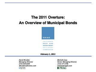 The 2011 Overture:
