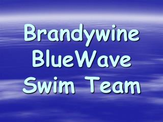 Brandywine  BlueWave Swim Team