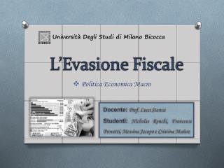 Universit  Degli Studi di Milano Bicocca