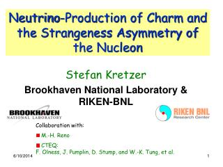 Neutrino-Production of Charm and the Strangeness Asymmetry of the Nucleon