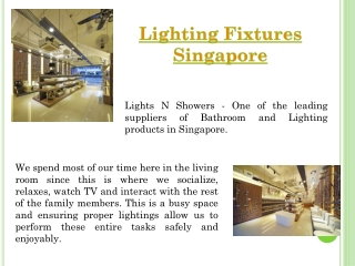 Singapore Lightings