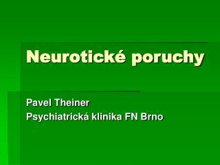Neurotick  poruchy