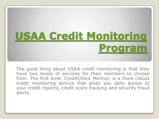 Credit Check Monitor Premier