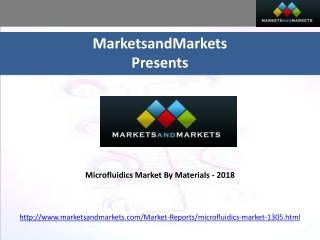 Microfluidics Market By Materials-2018