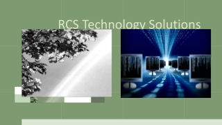 Affordable web Services-RCS Technology Solutions