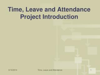 Time, Leave and Attendance Project Introduction
