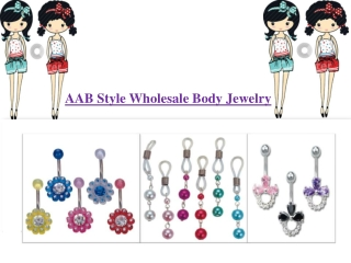 Aab style wholesale body jewelry