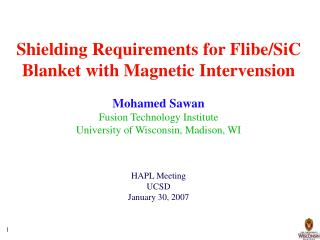 Shielding Requirements for Flibe
