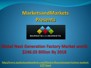 World Next Generation Factory Market By 2018
