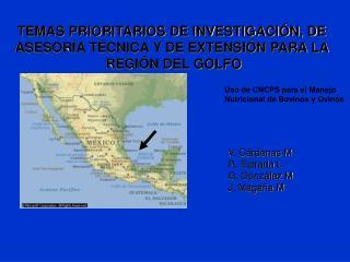 TEMAS PRIORITARIOS DE INVESTIGACI N, DE  ASESOR A T CNICA Y DE EXTENSI N PARA LA  REGI N DEL GOLFO