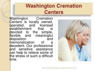 Washington Cremation Centers