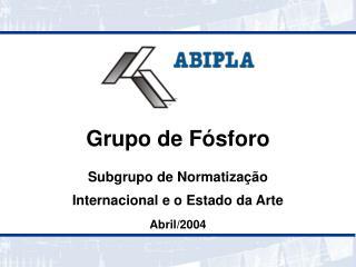 Grupo de F sforo