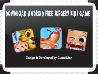 Download Android FREE Kids Games
