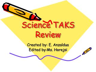 Science TAKS Review