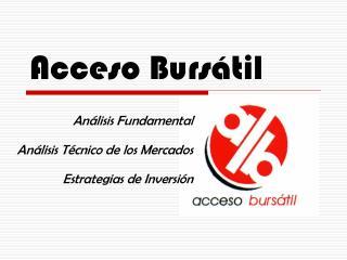 Acceso Burs til