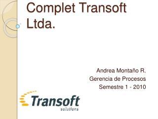 Complet Transoft Ltda.