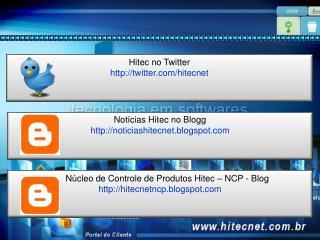 Hitec no Twitter twitter