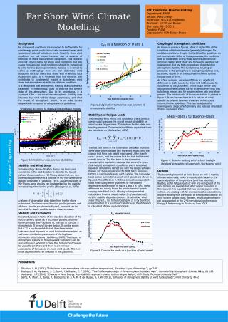 Far Shore Wind Climate Modelling