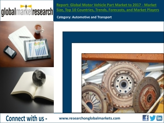 Global Motor Vehicle Part Market to 2017 | Research Report