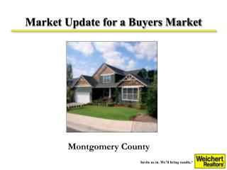 What s happening in the market Progress in marketing your home  A plan for moving forward