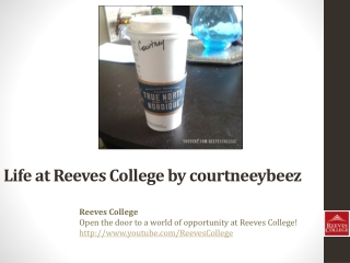 Life at Reeves College on Instagram by courtneeybeez